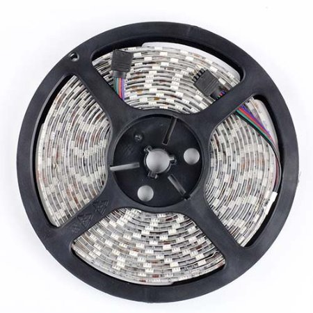 EconoLed 16.4FT 5M SMD 5050 Waterproof 300LEDs RGB Color Changing Flexible LED Strip Light US seller