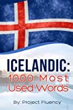 img - for Icelandic: 1000 Most Used Words: Speak Icelandic, Fast Language Learning, Beginners, (Norwegian, Swedish, Danish) book / textbook / text book