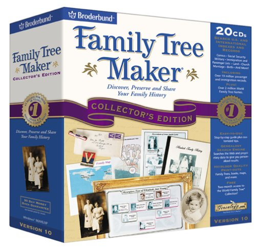 Family Tree Maker 10 Collector s EditionB00006IJHX