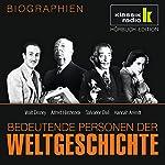 Bedeutende Personen der Weltgeschichte: Walt Disney / Alfred Hitchcock / Salvador Dalí / Hannah Arendt | Anke Susanne Hoffmann