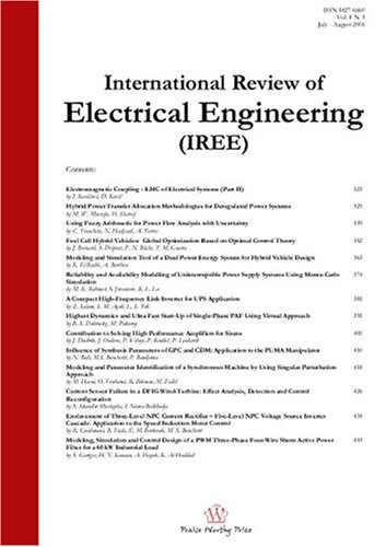 International Review Of Electrical Engineering
