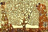 Gustav Klimt Tree of Life 24-by-36-Inch Art Poster Print