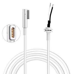 ElementDigital 60MCL Lovely Cable 60W & 85W AC Power Adapter DC Repair Cord L Connector for Apple MacBook Pro (Color:  L  Connector for Apple MacBook Pro)
