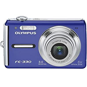 Vikuiti MySafeDisplay Screen Protector DQC160 from 3M for Olympus FE-330