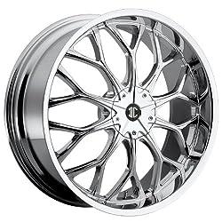 2CRAVE – no.9 – 20 Inch Rim x 8 – (5×110/5×115) Offset (40) Wheel Finish – Chrome