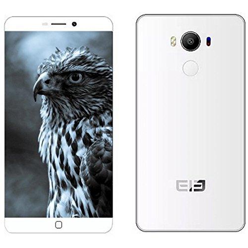Helio P10 64bit Octa-Coreelephone P9000 Touch ID 日本仕様4G LTE対応 SIMフリー 2スロット搭載スマホ●RAM 4GB ROM 32GB・Android 6.1 Marshmallow搭載ハイエンド スマホ●1300万画素 SONYカメラ・5.5インチFHD IPS液晶●NFC・指紋認証 ID・Wireless Charging・E-Compass・Type-C USB端子 (White)