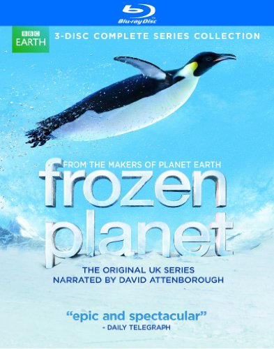 Frozen Planet 3-Disc Complete Series Collection Blu-Ray Disc