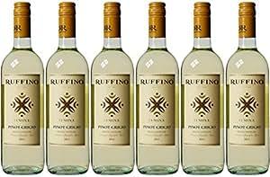 Ruffino Pinot Grigio delle Lumina White Wine Venizia Giulia NV 75 cl (Case of 6)