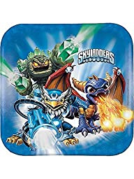 Skylanders 9″ Square Dinner Plates (8) Birthday Party
