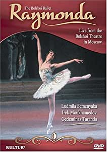 Glazunov - Raymonda / Bolshoi Ballet, Ludmila Semenyaka, Irek Moukhamedov