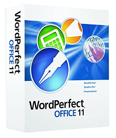 WordPerfect Office 11 Upgrade