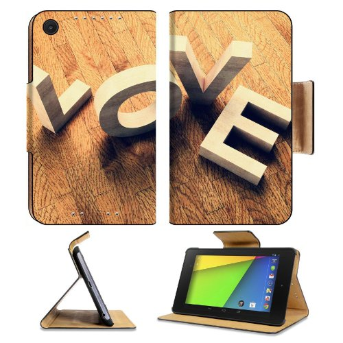 Fallen Love Block Letters Asus Google Nexus 7 Fhd Ii 2Nd Generation Flip Case Stand Magnetic Cover Open Ports Customized Made To Order Support Ready Premium Deluxe Pu Leather 8 1/4 Inch (210Mm) X 5 1/2 Inch (120Mm) X 11/16 Inch (17Mm) Liil Nexus 7 Profess