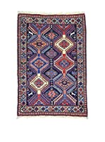 Eden Carpets Alfombra Yalameh Azul/Multicolor 120 x 82 cm