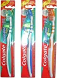 3x Colgate Navigator Plus Medium Toothbrush