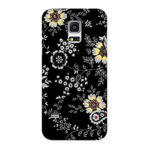 Gorgeous Classic Flower Back Case Cover for Galaxy S5 Mini