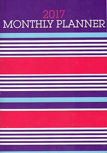 2017 Personal Monthly Planner / Calendar / Organizer - Monthly Page Format - v6 (Personal Planner Pages compare prices)