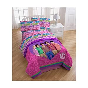 one direction full sheet set bedding childrens pillowcase and sheet sets. Black Bedroom Furniture Sets. Home Design Ideas