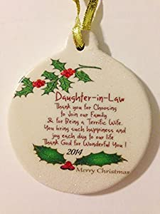 Amazon.com - Daughter-in-law 2014 Porcelain Christmas ...