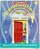 img - for Zaner-Bloser Handwriting: Opens the Door To Communication Grade 3 book / textbook / text book