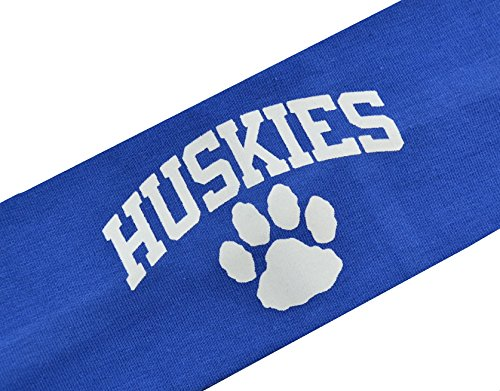HUSKIES Team Mascot Cotton Stretch Headband