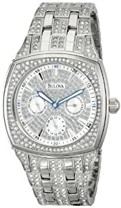 Bulova Men's Crystal Day-Date Watch #96C002