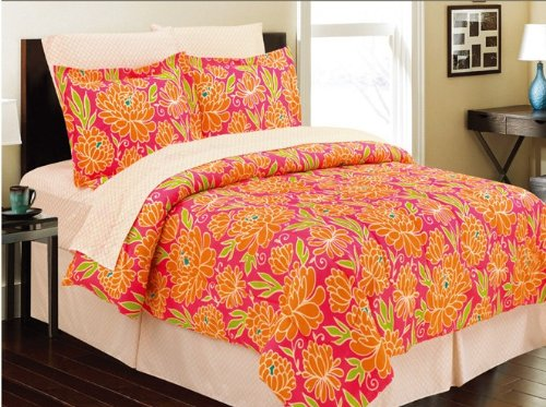 Cloissone 8 Piece Comforter Bed In A Bag Set Cal King front-173109