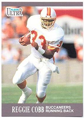 Reggie Cobb 1991 Fleer Ultra #260 - Tampa Bay Buccaneers