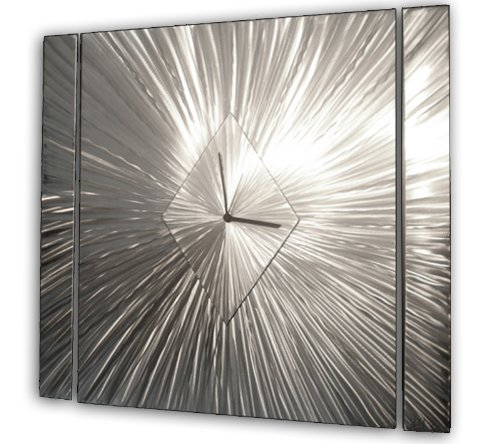Contemporary Abstract Metal Wall Clocks