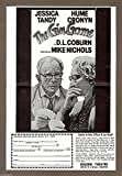 "Jessica Tandy ""GIN GAME"" Hume Cronyn / D. L. Coburn 1977 Broadway Flyer"