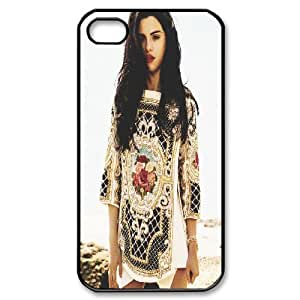.com: IPhone 4/4s Case Red Lips Blue Eyes, Cute Design Selena Gomez