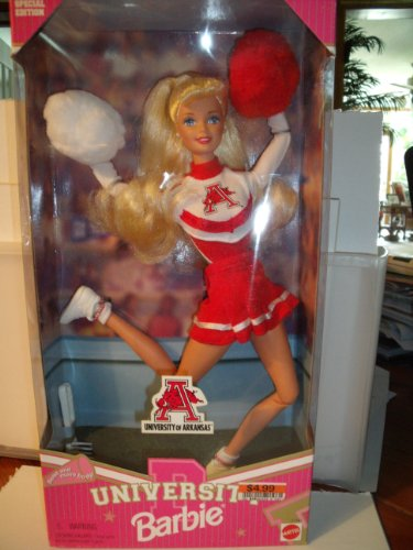 University of Arkansas Barbie Doll