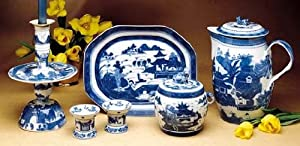 Mottahedeh Blue Canton Blue Canton Platter Small