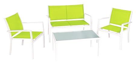 Ldk Garden Altea - Conjunto terraza, 240 x 120 x 77 cm, color verde