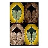 Bluegape Ranadeep Four Seasons Of Me Poster, Yellow