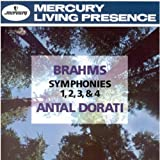 Johannes Brahms Symphonies 1 - 4 (Lso/Dorati)