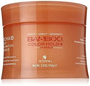 Alterna Bamboo UV+ Rehab Deep Hydration Masque for Unisex, 5 Ounce
