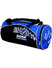 "SIGMA GYM BAG 18""*9""*9"" (ASSORTED COLOUR) (Pack Of 2)"