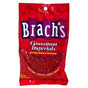 Brach's Candy Cinnamon Imperial Heart, 8.25-Ounce Packages (Pack of 18)