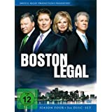 Boston Legal - Season 4 5 DVDs