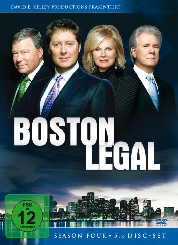 Boston Legal - Season 4 (5 DVDs)