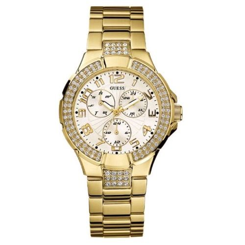 Guess G13537L Gold Prism Ladies Watch