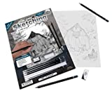 Royal & Langnickel Sketching Made Easy A4 Size Old Country Barn Designed Painting Set
