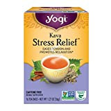 Yogi Tea, Kava Stress Relief, 16 Count (Pack of 6), Packaging May Vary (Tamaño: Pack of 6)