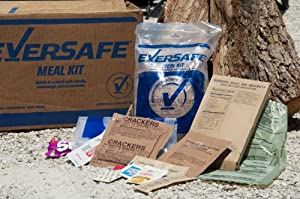 Eversafe MRE Full Meal Kit with Heater - Single Sample (Civilian MRE) by Eversafe