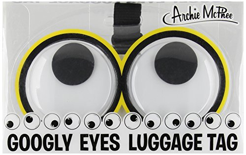 Accoutrements Googly Eyes Luggage Tags - 1
