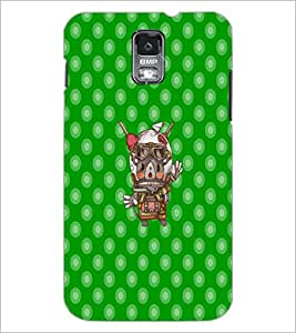 PrintDhaba Cartoon D-3620 Back Case Cover for SAMSUNG GALAXY S5 (Multi-Coloured)