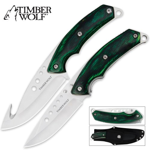 Timber Wolf Custom Skinning Combo Green