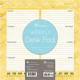 TF Publishing 10-0571 Citrus Weekly Desk Pad