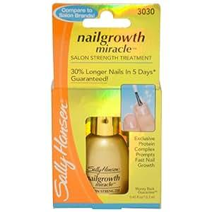 Sally Hansen Nailgrowth Miracle, Serum 0.45 oz Clear