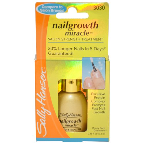 Sally Hansen Nailgrowth Miracle, Serum 0.45 oz Clear (Sally Hansen Feet compare prices)